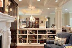 Built-in Bookshelf - traditional - family room - salt lake city - Renovation Design Group