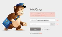 Set up an email opt-in form on your website with Mailchimp Email Marketing Services, Digital Marketing, Form Design, Web Design, Print Design, Login Form, Login Page, Mobile Design, User Experience