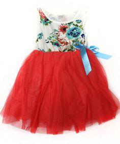 GroopDealz   Vintage Floral Tutu Dresses - 4 Colors! #groopdealz