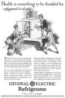 General Electric Refrigerators 1928 Ad Picture