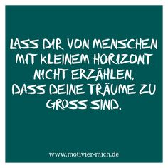 Horizont – Träume, motivation, words, spruch, crossfit, functional fitness, gym, cologne, sport, petrol, typography