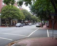 More of the Old Towne area in Fredericksburg, VA