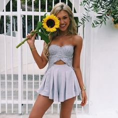 sunflowers make me happy #OOTD wearing @mura_boutique