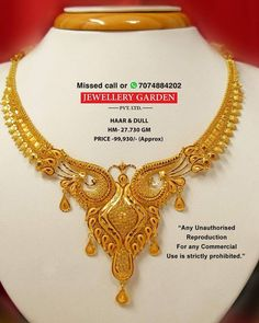 Light Weight Gold Jewellery, 24k Gold Jewelry, Gold Jewellery Design, Gold Necklace Simple, Gold Choker Necklace, Chand Bali Earrings Gold, Gold Costume Jewelry, Gold Girl, Lahenga