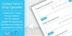 Drop Uploader for Contact Form 7 - Drag&Drop File Uploader Addon