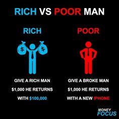 48 Best Rich vs Poor images in 2018 | Personal Development, Self