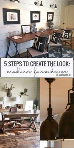 5 Steps To a Perfect Modern Farmhouse Style   eBay
