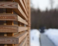 mitred corners - will use this on all backyard slats