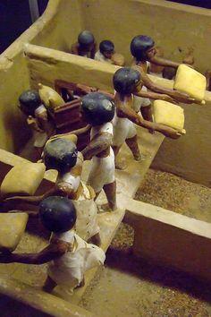 Tomb model of an Egyptian granary Dynasty 11 2009-1998 BCE