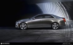 Introducing the All-New 2014 #Cadillac #CTS.