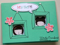 New Sweetie pie photopolymer stamps from Stampin' UP!