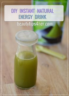DIY Natural Energy Drink that Gives You an Instant Boost | Beauty and MakeUp Tips