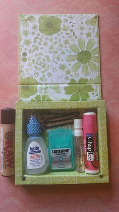 Emergency Smoker Kit stash box 420 box stoner by TheGanjaGoods