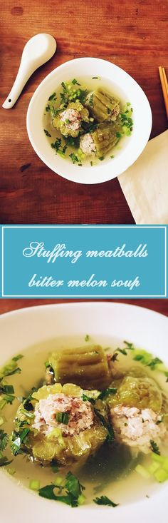 A traditional Vietnamese dish for the New Year. It's a great way to incorporate bitter melon into your meals.