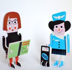 Ingela Arrhenius 2D Character Parade Puzzle by: Ingela Arrhenius -