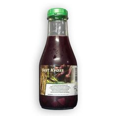 Red Beet Kvass presents probiotics from raw fermentation of red beets. A hydrating sports drink know as a blood tonic due to its easily assimilated nutrients for build good blood. Organically farmed, raw fermented, never cooked.