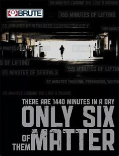 Only 6minutes matter