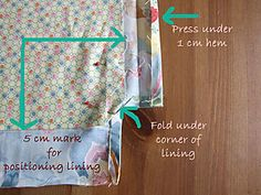 Girlie Bag Lining in position copy Diy Purse, Best Relationship, Wooden Handles, Purses And Bags, Sewing, Totes, Summer, Happy, Manualidades