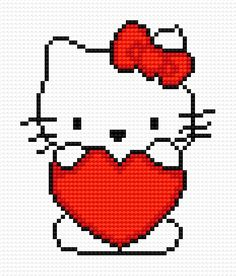 Hello Kitty free Pdf pattern