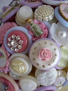 Lindos botões!  <3