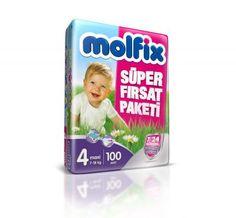 Molfix 7/24 Maxi 4 Numara 100 Adet Koruma Süper Fırsat Paketi Bebek Bezi Molfix 7/24 Süper Fırsat Paketleri, bebeklere ve annelere aradıkları üstün korumayı ve rahatlığı vermek için geliştirilmiştir.  Bebekler 7 gün 24 saat bebek bezi kullanırlar ve anneler ise bebeklerinin güvenliği ve sağlığından emin olmak isterler. Tüm bunlar düşünülerek gelitrilern Molfix 7/24 Süper Fırsat Paketi Bebek Bezleri bebeğinizin daha uzun süreli huzurlu kalmasını sağlar.. #Molfix #Bebekbezi #Bebek