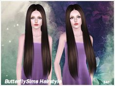 bfly140 - Hairstyles - B-fly - Provide personalized hairstyle to Sims game player