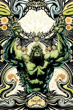 Swamp Thing #7 - This cover is gorgeous.  And the series has really peaked my interest. My first real Swamp Thing comic experience.