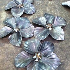 blooms / hand forged / steel Oak Hill Iron