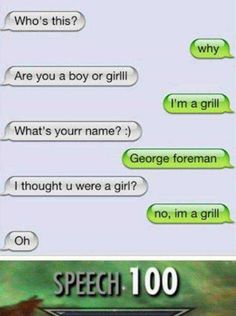 Need a laugh? These hilarious videos will make you LoL. Lol, Funny Texts, Funny Jokes, Funny Pins, Funny Stuff, Funny Text Messages, R Memes, Text Memes, Fresh Memes