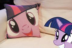My Little Pony Pillow - Twilight Sparkle. $35.00, via Etsy.