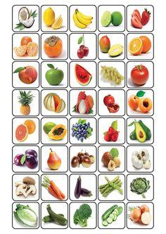 Voici quelques planches pour jouer au bingo avec le vocabulaire de la nourriture en français + les cartes à piocher : Le PDF : bingonourriture: