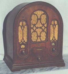 Vintage Atwater Kent Radio 1930's