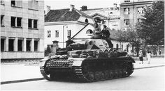 Vokiečiai Gedimino pr. Vilniuje 1941 m.