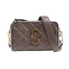 Sling Bags, Marc Jacobs Bag, Designer Bags, Grey Leather, Leather Crossbody Bag, Messenger Bag, Shoulder Strap, Satchel, 21st