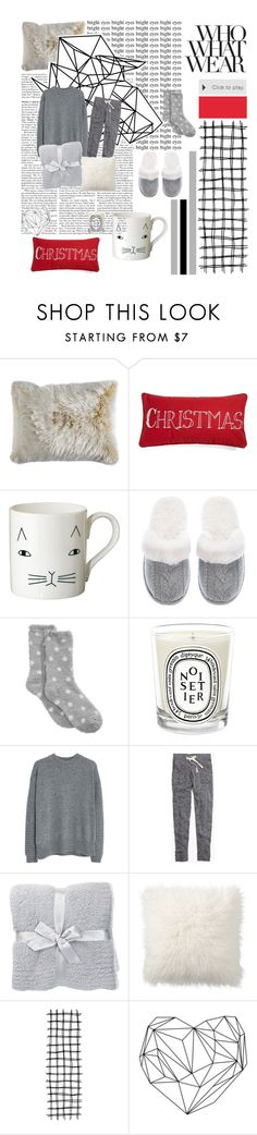 """""""Netfilx"""" by divasyafira on Polyvore featuring Pier 1 Imports, Levtex, Donna Wilson, Victoria's Secret, Charter Club, Diptyque, MANGO, Madewell, Barefoot Dreams and Pottery Barn"""