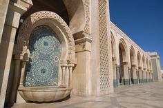 Hassan II Mosque, Casablanca, Morocco (thanks @Imogenelvo )
