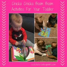 Chicka Chicka Boom Boom — Cute Kids Reading BooksChicka Chicka Boom Boom is a staple in Gus' book collection. I'm sure it probably is a favorite of yours as well, but if not this must own is on sale for $4.72 (Link Below). This darling book is a great way to introduce your little monster to the ABC's. The activities we chose to go along with Chicka Chicka Boom Boom are both fun and educational!