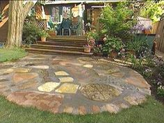 recycled patio