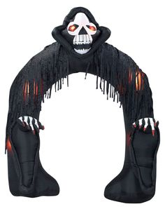 Airblown Inflatable Archway with Grim Reaper