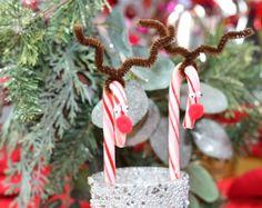Reindeer candy cane crafts