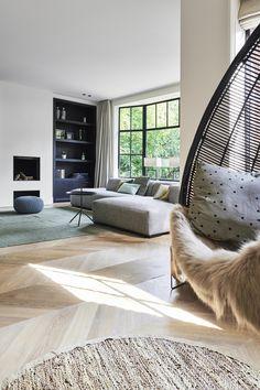 52 Ideas Design Interior Salon Black White For 2019 Living Room Interior, Home Interior, Home Living Room, Modern Interior, Interior Styling, Interior Architecture, Living Room Designs, Living Spaces, Interior Design
