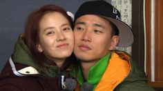 """Running Man Monday Couple Gary & Jihyo """"Let's stay like this for 5 minutes"""" - Gary"""