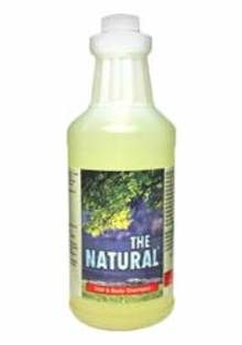 The Natural Hair/Body Shampoo w/Conditioner-Quart
