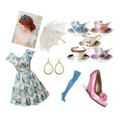 Tea party attire