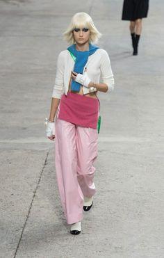 pantalon, chanel, rose, pink, rose malabar