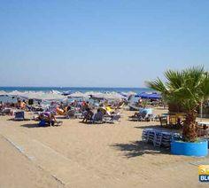 Spiaggia di Faliraki a Rodi