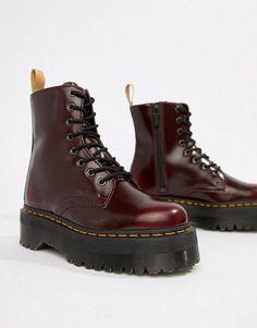 Dr Martens Exclusive Cherry Jadon Boots #DocMartensoutfit