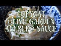 Who doesn't love Olive Garden's Alfredo Sauce? This Copycat is just as good!  | Copycat Olive Garden Alfredo Sauce  @Go Go Go Gourmet