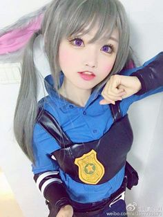 Thỏ Judy Hopps 兔子朱迪 cn Tiểu Nhu 小柔SeeU Judy Hopps cn Xiao Rou SeeU