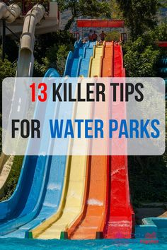 13 Spectacular Water Theme Park Tips to Make Your Trip Amazing - ThemeParkHipster World Water, Sea World, Water Park Tips, Water Parks, Disney Vacations, Disney Trips, Abandoned Amusement Parks, Disney World Parks, Disney Planning